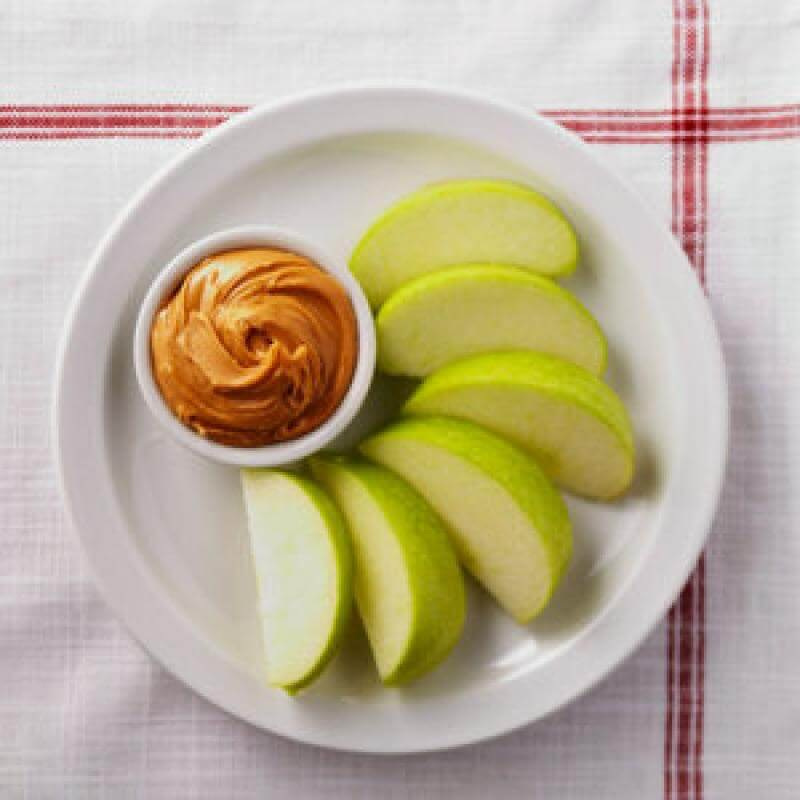 Apples with Peanut Butter