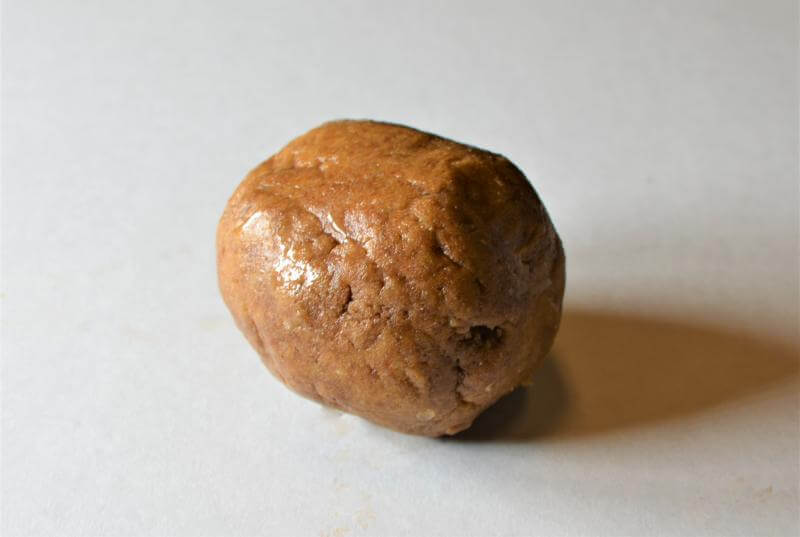 (1)Chocolate & Peanut Butter Protein Ball