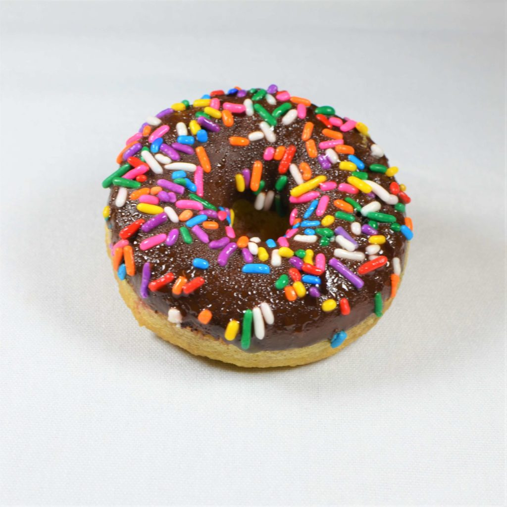 Chocolate Sprinkle Guilt-Free Donut