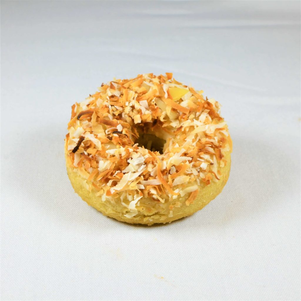 Coconut & White Chocolate Guilt-Free Donut