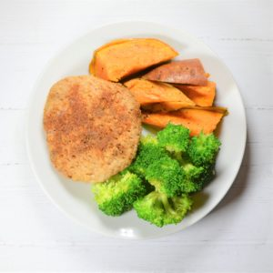 Ghost Spiced Turkey Burger with Broccoli (Balance)