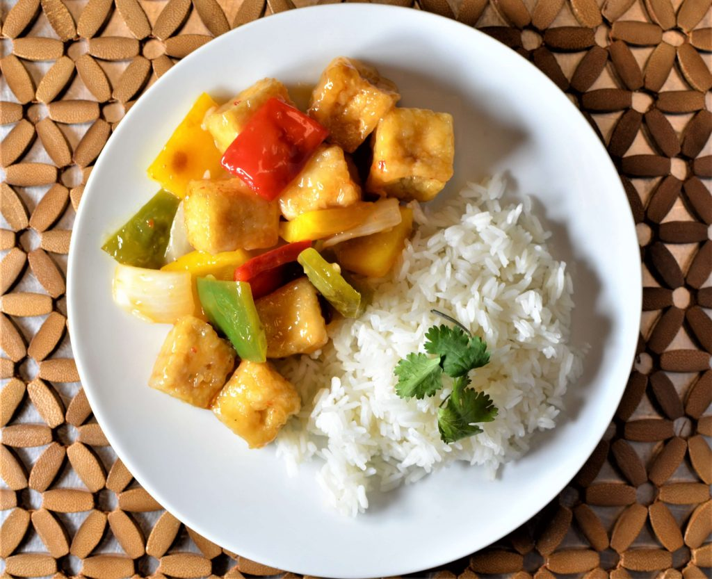 Sweet & Sour Tofu Stir-Fry