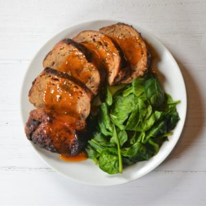 Teriyaki Meatloaf (Weight loss)