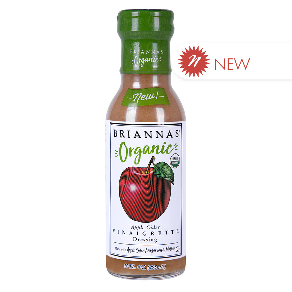 Organic Apple Cider Vinaigrette – Briannas (12 oz)