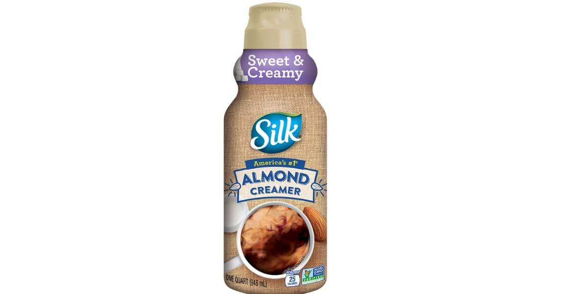 Almond Coffee Creamer – Silk (32 oz)