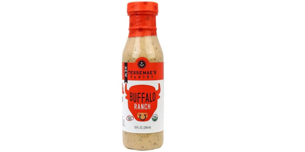 Organic Buffalo Ranch Dressing – Tessemae (10 oz)