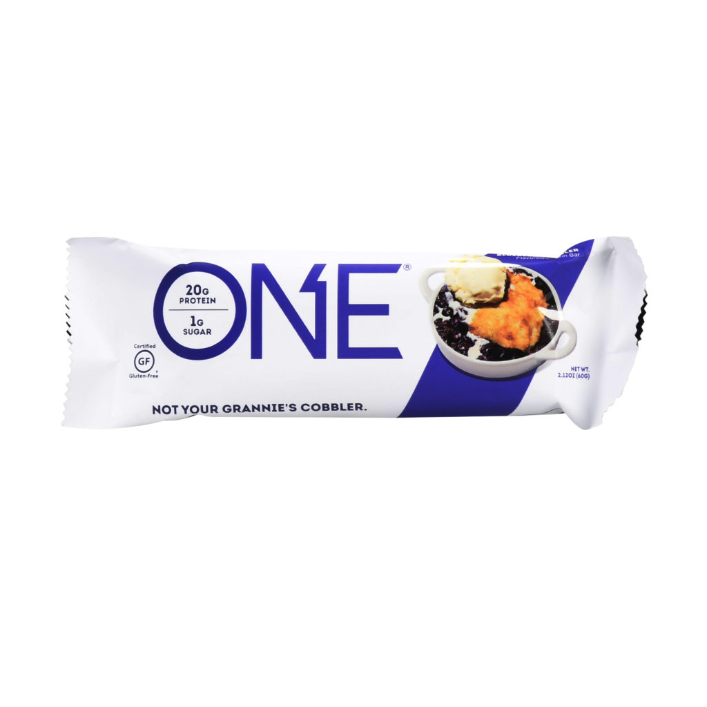 Blueberry Cobbler Protein Bar – ONE brand (single bar)