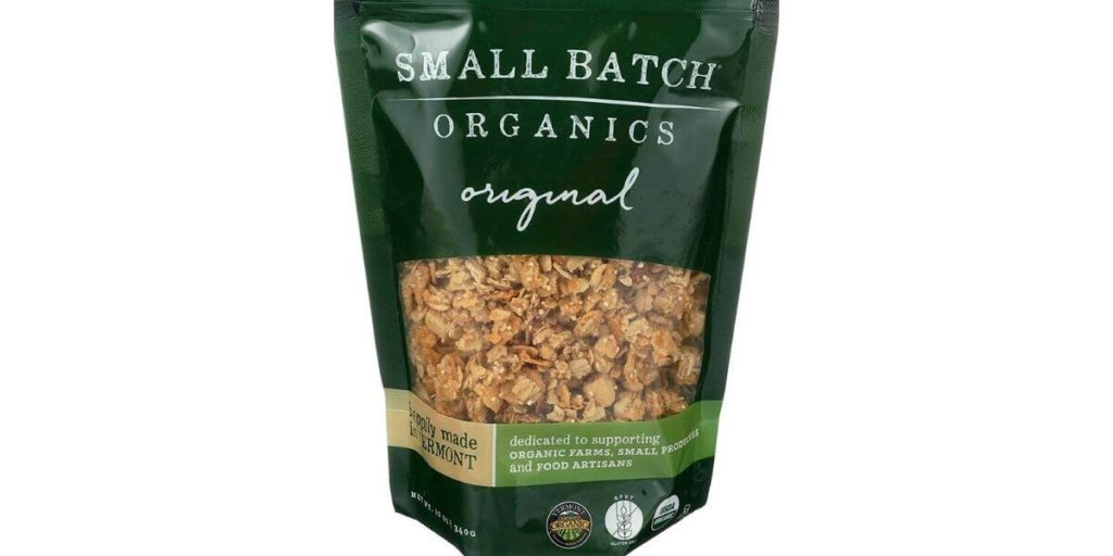 Original Organic Granola – Small Batch Organics (12 oz)