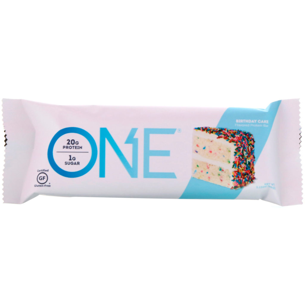 Birthday Cake Protein Bar – ONE brand (single bar)