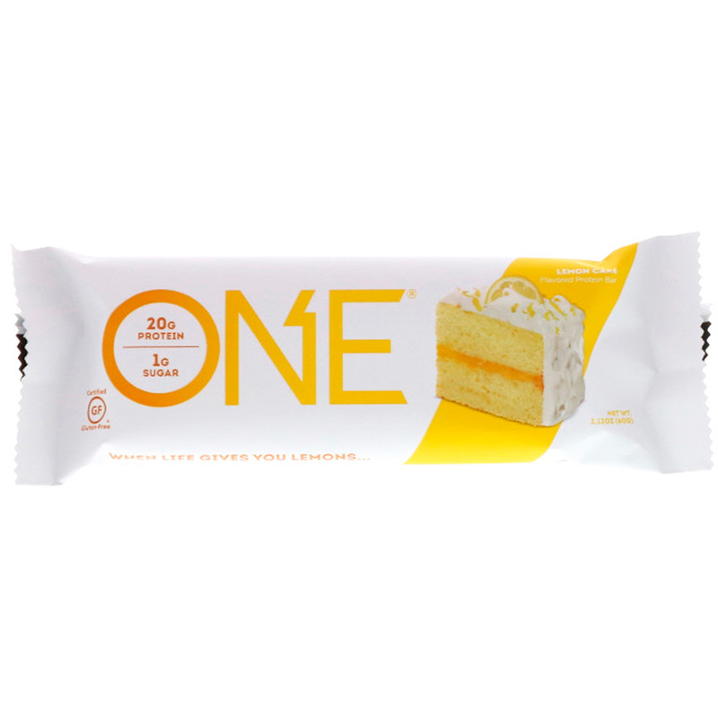 Lemon Cake Protein Bar – ONE brand (single bar)