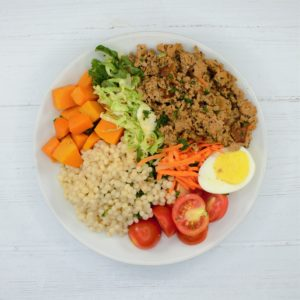 Ground Turkey Power Bowl (B)