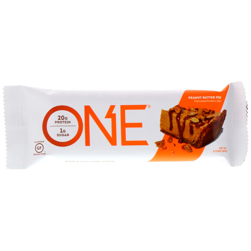 Peanut Butter Pie Protein Bar – ONE brand (single bar)