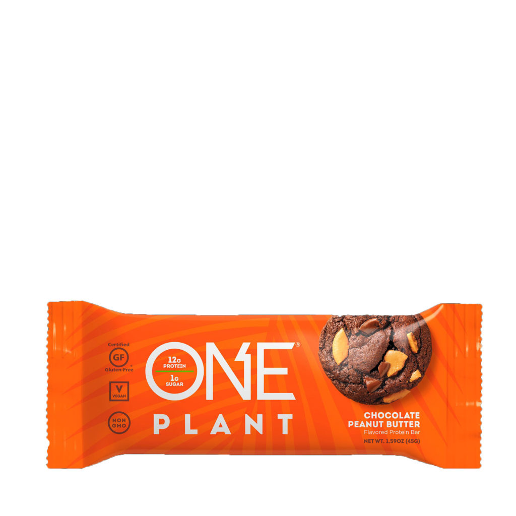 PLANT Chocolate Peanut Butter Protein Bar – ONE brand (single bar)