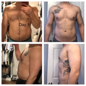 How I lost 25 pounds in 40 days with Nutre