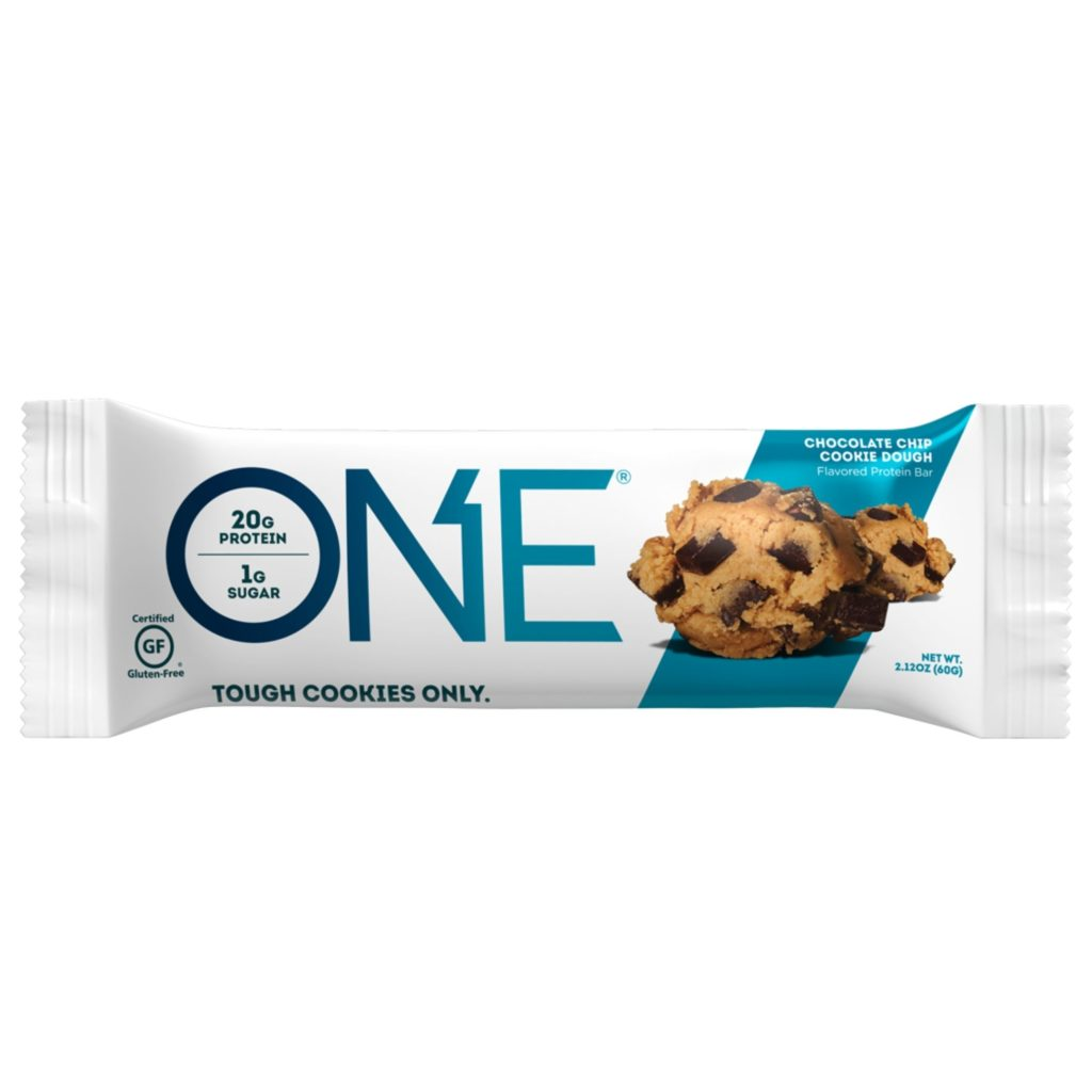 Chocolate Chip Cookie Dough – ONE brand (single bar)