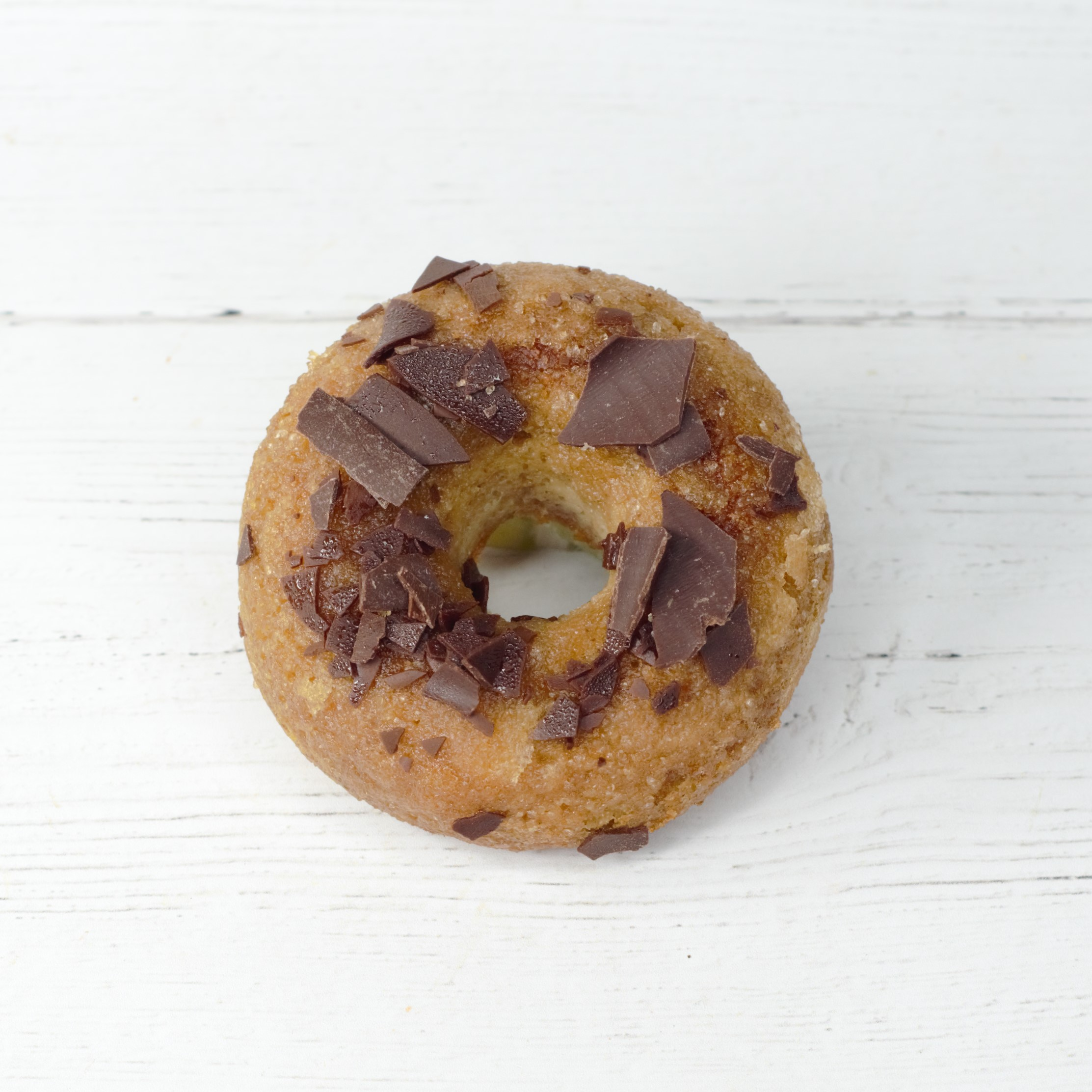 Orange Glaze Paleo Donut