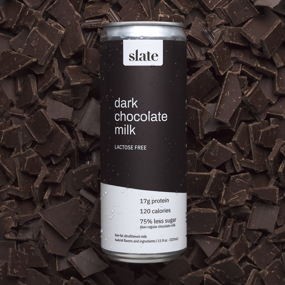 Dark Chocolate Milk – Slate (12oz)