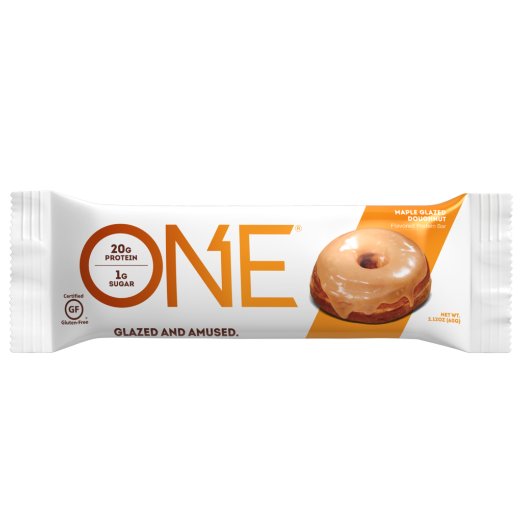 Maple Glazed Donut Protein Bar – ONE brand (single bar)