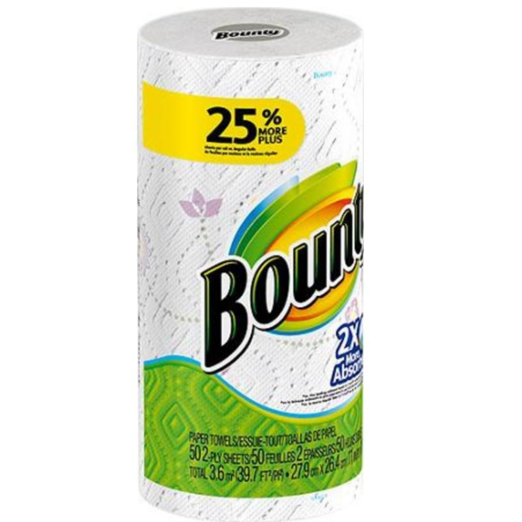 Paper towels – Bounty (single roll)